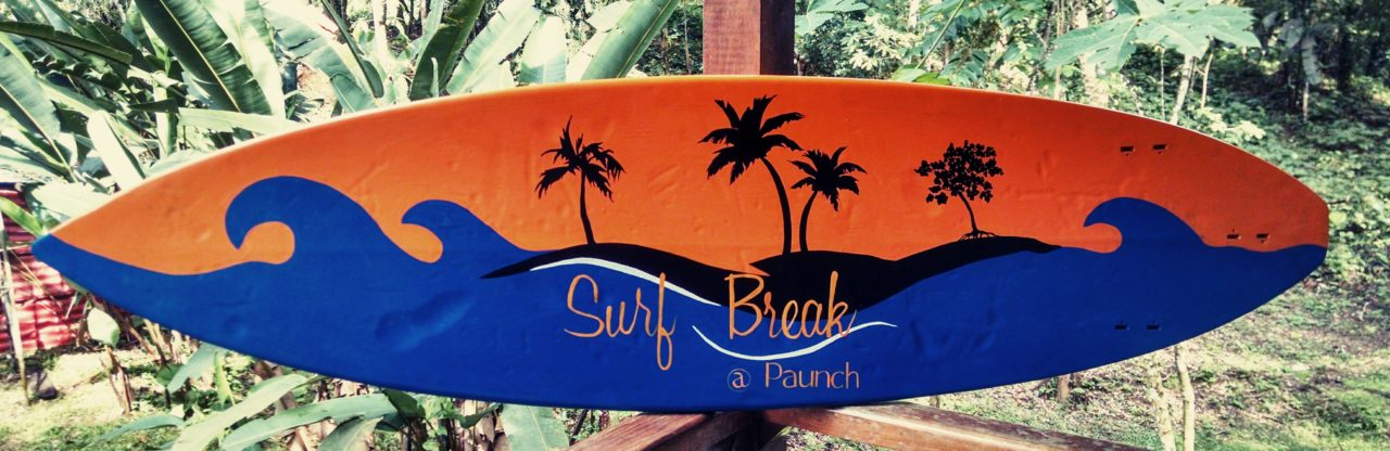 Surf Break at Paunch Sign